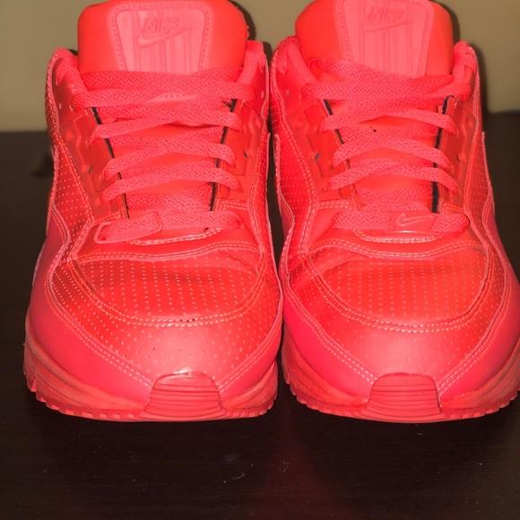 Mens Nike Air Max LTD 3 Running Bright Crimson